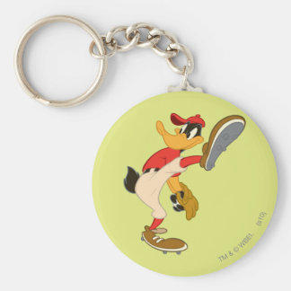 DAFFY DUCK™ Wind Up Basic Round Button Key Ring