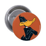 Daffy Duck with Arms Crossed Pinback Button