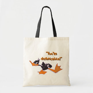 Daffy Ready to Fight Tote Bag