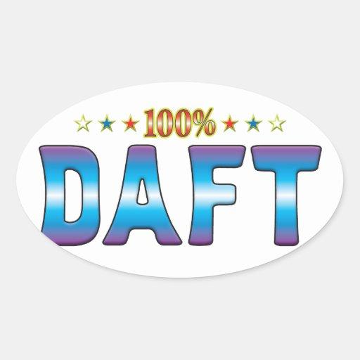 Daft Star Tag v2 Sticker