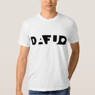 Dafuq Shadow Blocks. T-Shirt. T-shirts