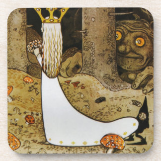 Daga in the Woods Beverage Coaster