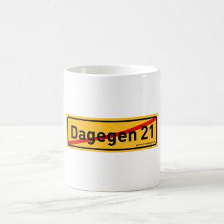 dagegen21.de cup basic white mug