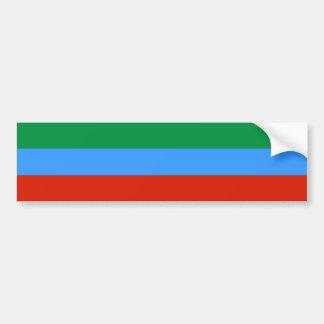 Dagestan, Russia flag Bumper Stickers