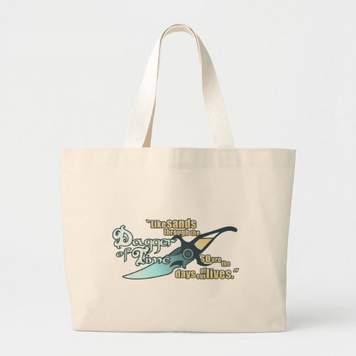 Dagger of Time Tote Bags