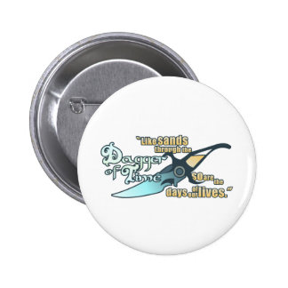 Dagger of Time Pinback Button