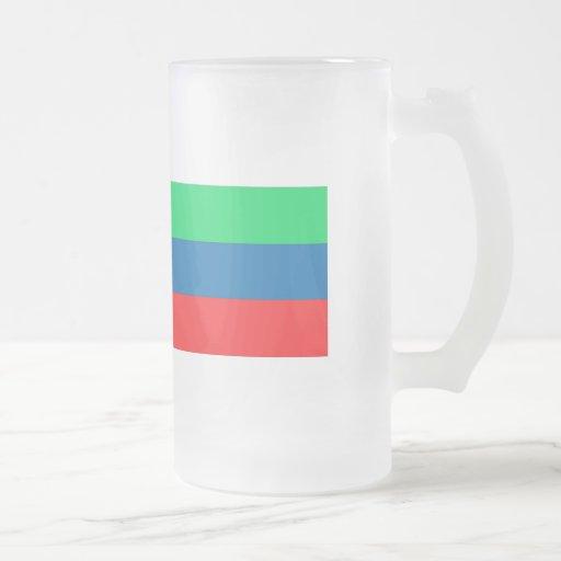 Daghestan Flag Coffee Mug