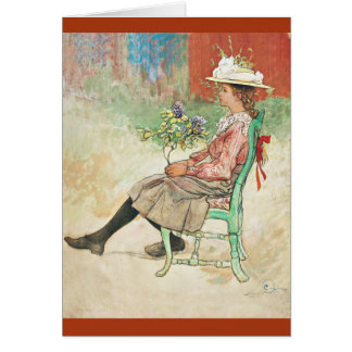 Dagmar in the Garden Card