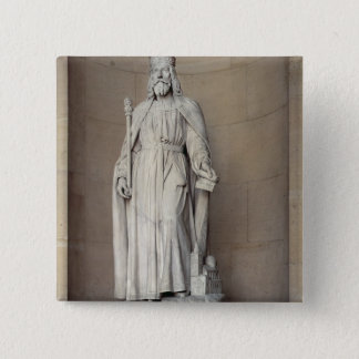 Dagobert (605-39) King of the Franks, 1836 (marble 15 Cm Square Badge