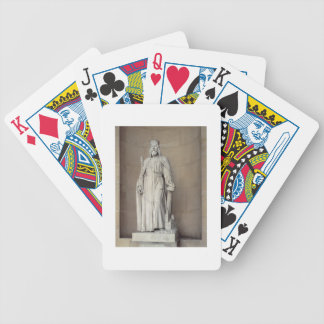 Dagobert (605-39) King of the Franks, 1836 (marble Bicycle Playing Cards