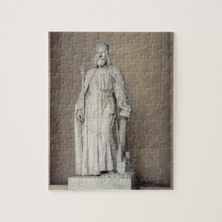 Dagobert (605-39) King of the Franks, 1836 (marble Jigsaw Puzzle