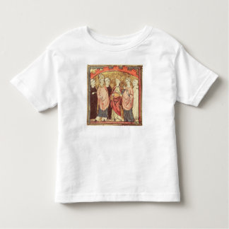Dagobert I , King of Franks receiving the Kingdom Toddler T-Shirt
