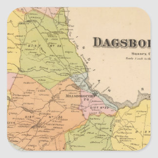 Dagsborough Square Sticker