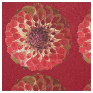 Dahlia Asteraceae - Fabric