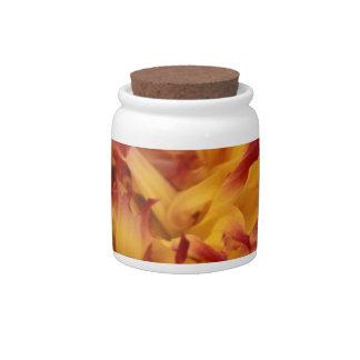 Dahlia Candy Jars