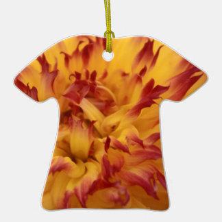 Dahlia Ceramic T-Shirt Decoration