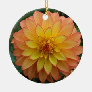 Dahlia Christmas Ornament