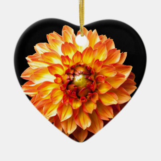Dahlia Christmas Ornament