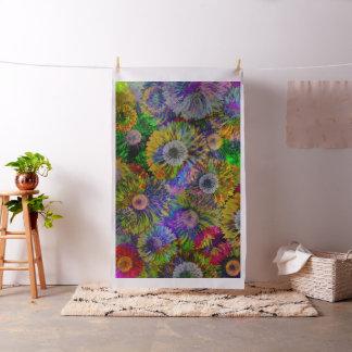 Dahlia Collage Fabric