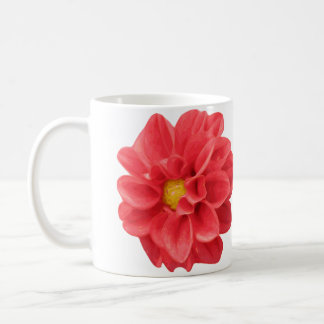Dahlia Flower Mug