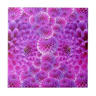 Dahlia Flower Tile