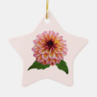 Dahlia Foxy Lady Christmas Ornament