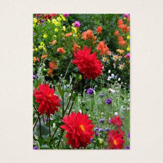 Dahlia Garden ATC Business Card