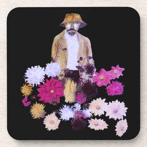 Dahlia Gardener Coasters