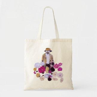 Dahlia Gardener Budget Tote Bag
