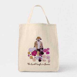 Dahlia Gardener Tote Bag