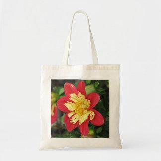 Dahlia Goldalia Scarlet Tote Bag