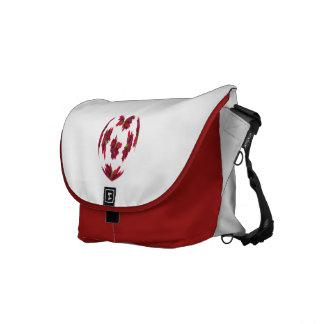 Dahlia Heart Messenger Bags