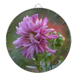 dahlia in the garden dartboard