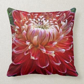 Dahlia Macro Pillow