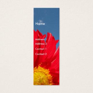 Dahlia Mini Business Card