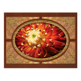 Dahlia - Nature s Radiance Postcards