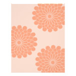 Dahlia Pattern-Double Sided Full Color Flyer