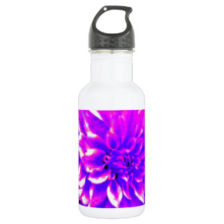 Dahlia puple or lilac tones 532 ml water bottle