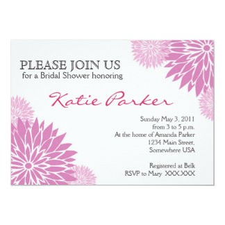 Dahlia Purple Flower Card