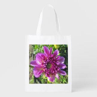 Dahlia Purple Flower Garden Plant