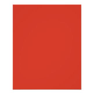 Dahlia Red in an English Country Garden 11.5 Cm X 14 Cm Flyer