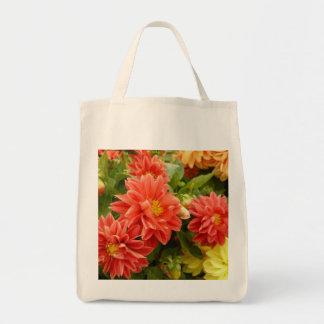 Dahlia Series Canvas Bags