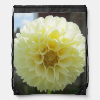 Dahlia Sunlit Yellow Flower Rucksacks