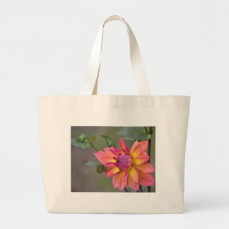 Dahlia Tote Bag: Awaiting