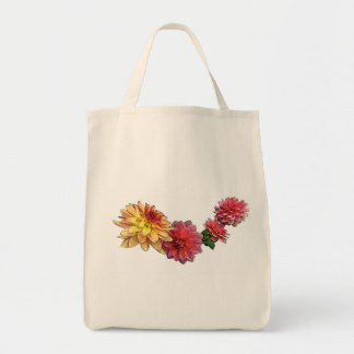 Dahlia Tote Grocery Tote Bag