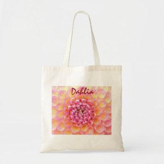 Dahlia Totebag Budget Tote Bag