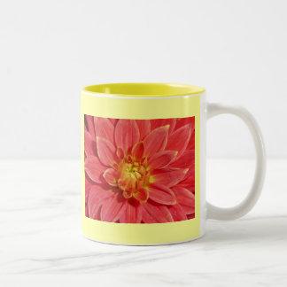Dahlia Two-Tone Coffee Mug