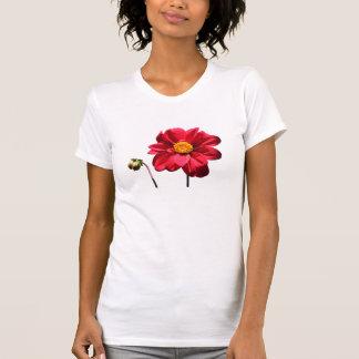 Dahlia w/Bud ~ T Tshirts
