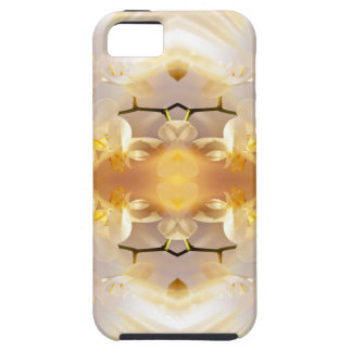 Dahlias and Orchids flowers in reflect iPhone 5 Cover