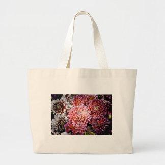 Dahlias Canvas Bags